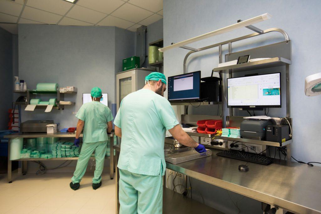 Centrale di Sterilizzazione